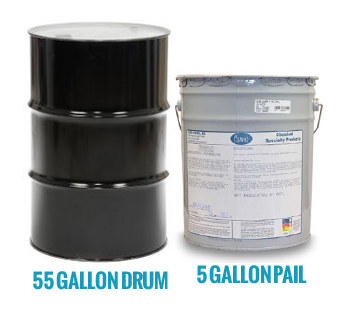 55 Gallon Drum and 5 Gallon Pail